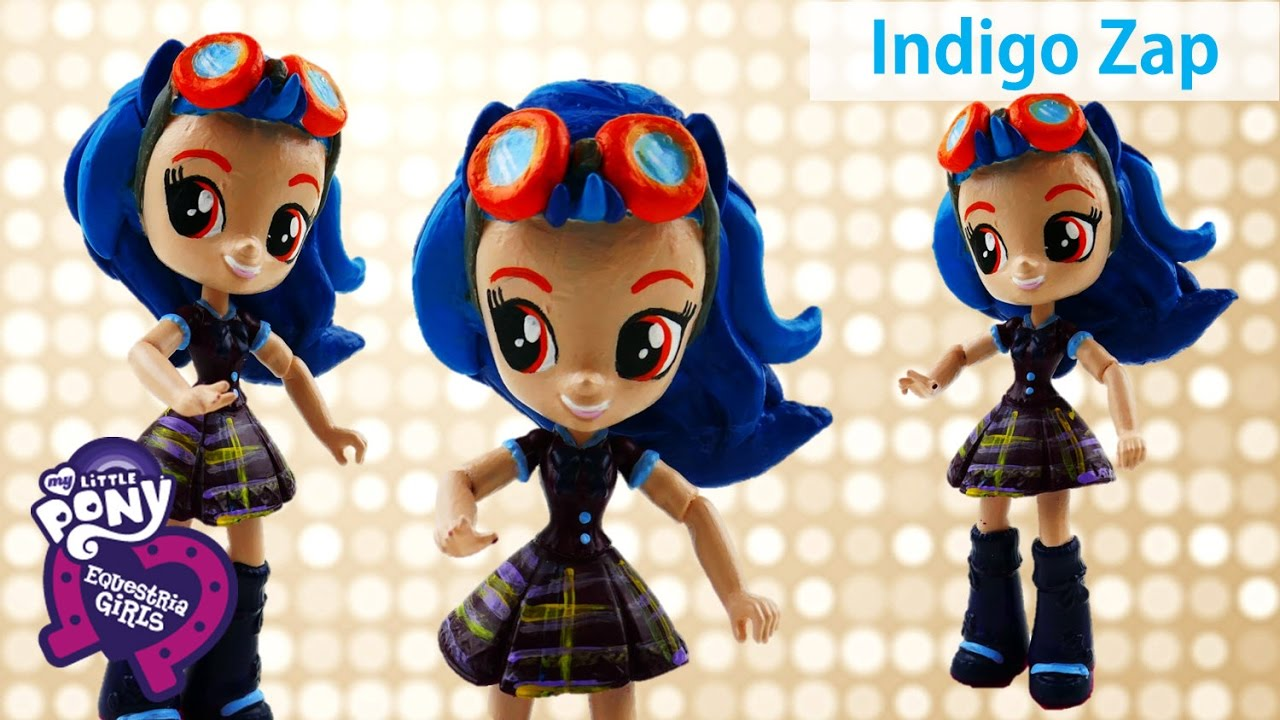 DIY My Little Pony Indigo Zap Shadowbolts Friendship Games Equestria Girls Minis Custom