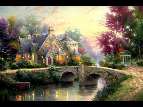 Lamplight Manor Thomas Kinkade Studios