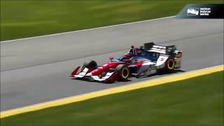 All IndyCar Crashes From The 2017 Honda Indy 200 At Mid-Ohio (Mid-Ohio Sports Car Course)