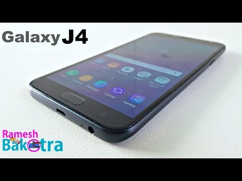 Samsung Galaxy J4 Unboxing and Full Review
