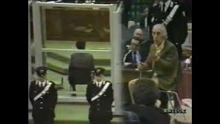 Confronto fra Tommaso Buscetta e Pippo Calò