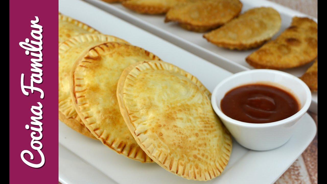 Empanadillas con revuelto de setas y foiegras | Javier Romero