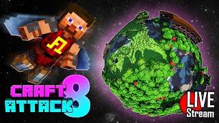 🔴 Minecraft Waldanwesen plündern🔨 Craft Attack 8 Live
