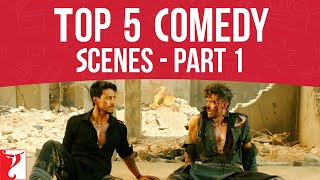 Top 5 Comedy Scenes, Part 1, Hrithik Roshan, Tiger Shroff, Salman Khan, Varun Dhawan, Anushka Sharma - Download this Video in MP3, M4A, WEBM, MP4, 3GP