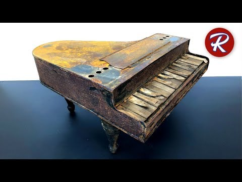 Loving Restoration of a Toy Piano