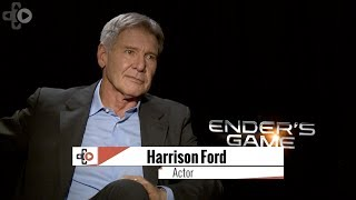 Ender's Game Harrison Ford Talks Video Games