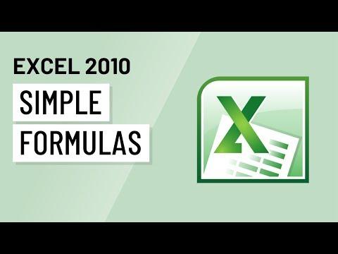Excel GCF formulas