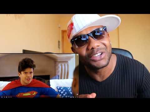 Racist Superman   Rudy Mancuso, King Bach & Lele Pons - REACTION