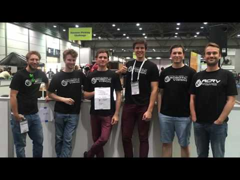 Australian Centre for Robotic Vision at the 2016 Amazon Picking Challenge