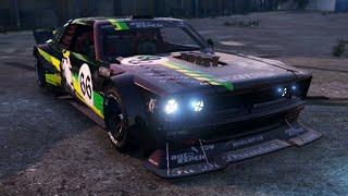 "GTA 5: Drift Tampa ""Ken Block's Mustang"" Tuning Customization (GTA V Online)"