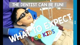 Ethan's Trip to the Dentist - What To Expect For Kids and Toddlers - Toddler's First Dentist Visit