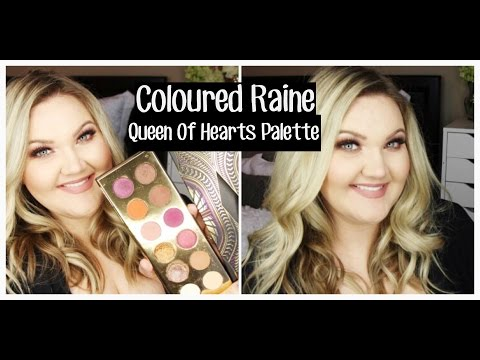 Queen Of Hearts Eyeshadow Palette by Coloured Raine #6
