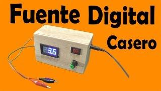 Gambar cover Cómo Hacer Una Fuente Digital Casero (muy fácil de hacer)