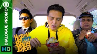 Bagga wants to know how to eat in Urdu?   Happy Phirr Bhag Jayegi   Dialogue Promo