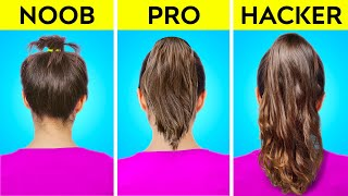 SHORT VS LONG HAIR PROBLEMS AND HACKS TO OVERCOME FAILS    Funny Situations And Tips By 123 GO! GOLD