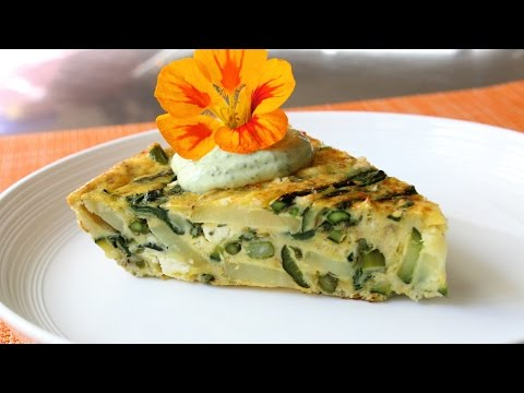 Spring Vegetable Frittata Recipe – How to Make a Baked Frittata