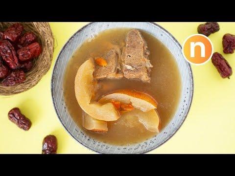 Old Cucumber Soup    Lou Wong Kua Tong [Nyonya Cooking]