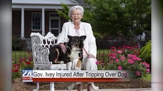 Gov. Ivey Injured After Tripping Over Dog