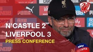 Newcastle 2-3 Liverpool | Jurgen Klopp Press Conference