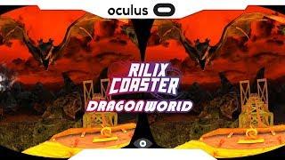 SBS 1080p► Dragon World VR • RILIX COASTER • Samsung Gear VR Gameplay 2018