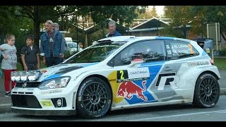 preview picture of video 'Rallye de France WRC 2014 -  ESS14 : Mulhouse'