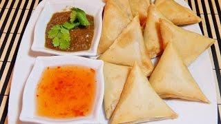 Qeemay kay samosay/ Spicy Meat Samosa/ Ramadan Iftar recipes