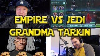 Star Wars: Galaxy Of Heroes - Empire VS Jedi - Grandma Tarkin Cookies!!!