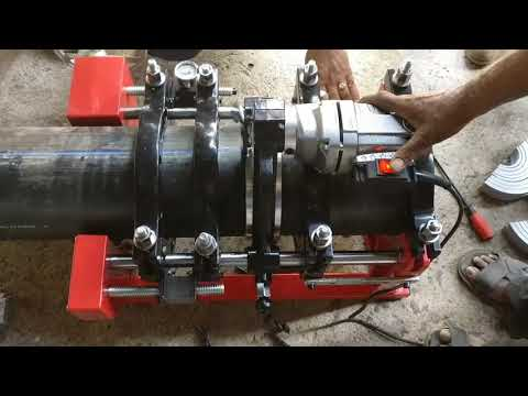 HDPE Pipe Welding Machine  - Model No 200HDL 4 Clamps