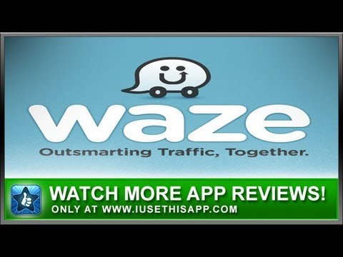 Waze iPhone App Review – Waze App – Navigation Apps