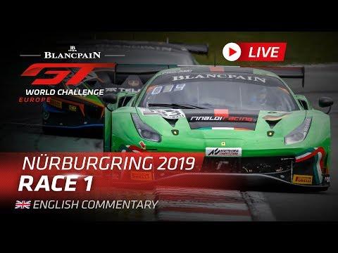 ブランパンGT ニュルブルクリンク Race1 ハイライト動画