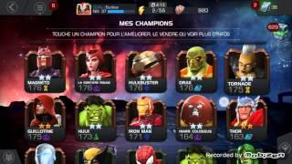 Présentation de Marvel tournoi des champions