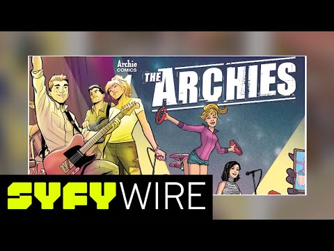 The Archies Meet the Monkeys: When Real Bands Appear in Comics | New York Comic-Con 2017 | SYFY WIRE