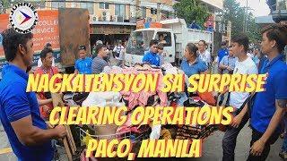 CLEARING OPERATIONS PACO MANILA   DPS TASK FORCE   MAYOR ISKO MORENO