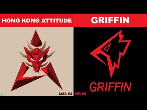 HKA vs GRF - Worlds 2019 Group Stage Day 6 - HK Attitude vs Griffin