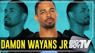 Damon Wayans Jr. on 'Happy together', His Family's WORST Movies, Trump' America & A Lot More!