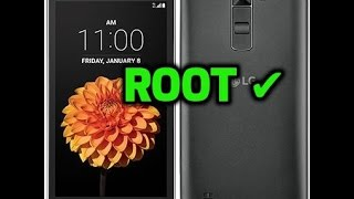 How To Root LG K7