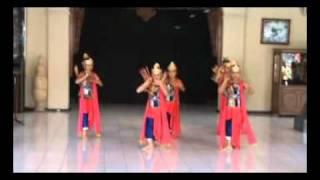 Tari Sunda klasik Srikandi - TMII 2009
