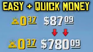 Red Dead Online - QUICK & EASY MONEY! How To Get Started Making Money