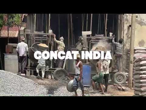Construction Concrete Mixer Mobile Hoist