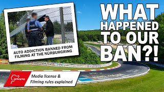 WHAT HAPPENED to our BAN at the NÜRBURGRING? (And How We Got A Media License)