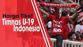 Harga Tiket untuk Laga Timnas U-19 Indonesia Kontra Yordania