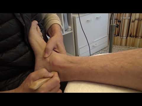 Wundes linkes Knie