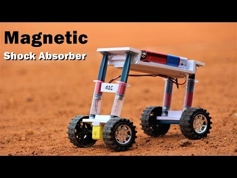 How To Make Magnetic Shock Absorber Car