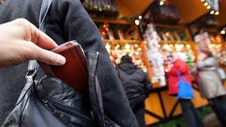 Taschendiebstahl: Die perfiden Tricks der Diebe