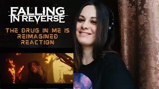 FALLING IN REVERSE - THE DRUG IN ME IS REIMAGINED REACTION   slaveformusic