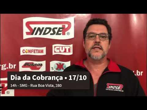 Vlamir Lima convida os trabalhadores para participarem neste dia 17 do Dia da Cobrança