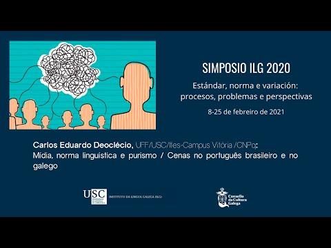 Mídia, norma linguística e purismo / Cenas no português brasileiro e no galego