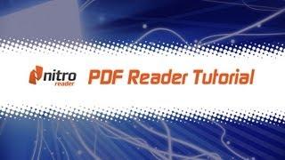 Gambar cover Nitro Reader (PDF Reader) Tutorial