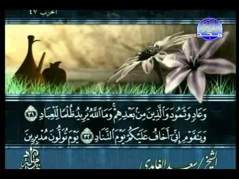 الجزء 24 :: القارىء الشيخ سعد الغامدي