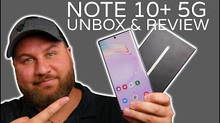 Samsung Galaxy Note10+ 5G: Hands-On Unbox & Review